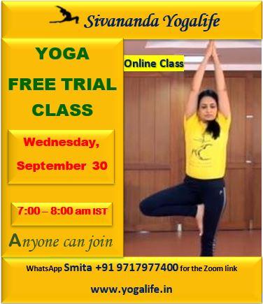 upcoming yoga classes